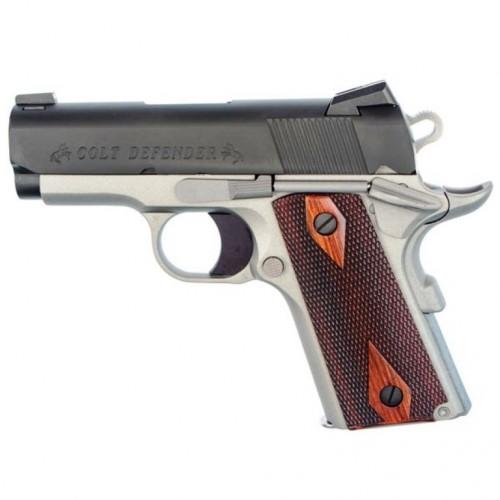 Colt Defender 45 Semi Automatic Two Tone Pistol O7000e