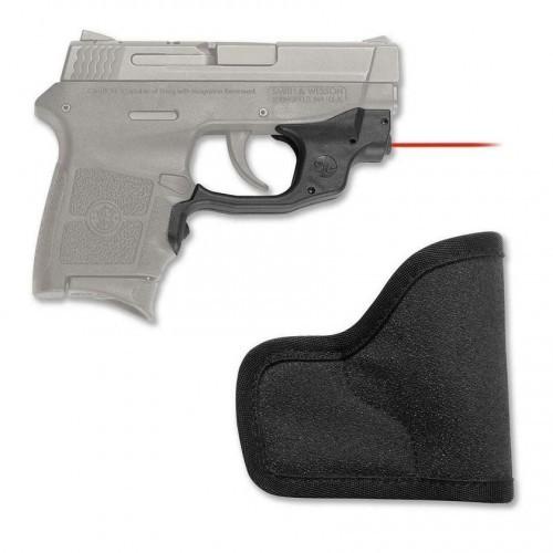 Crimson Trace Laserguard Red Laser Sight Smith & Wesson M&P BodyGuard  LG-454-H