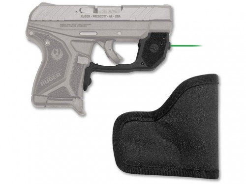 Crimson Trace Laserguard Green Laser Sight For Ruger LCP II Only LG-497G-H