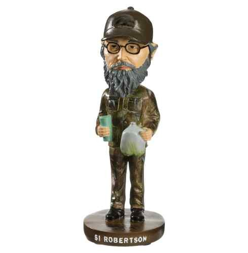 "Duck Commander Uncle Si Robertson Authentic 7"" Tall Bobble Head"