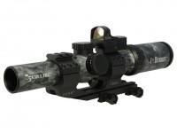 Burris Skulltac Ballistic Cq 1 4x24 Rifle Scope Fastfire