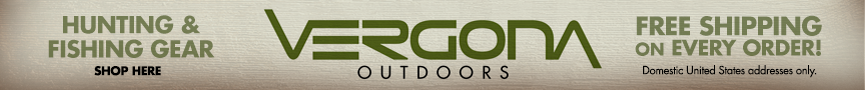 Shop Vergona Outdoors Online for Hunting gear, Fishing gear, Archery gear and more!